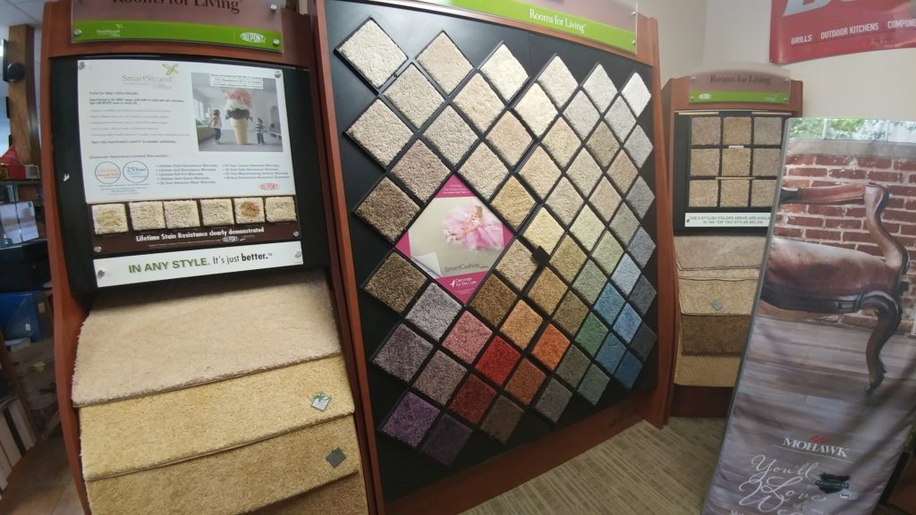 Come check out our selection of carpeting in our store in Burleson, TX!