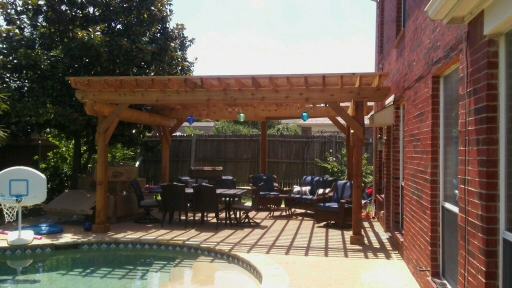 Pergola Built by Elite Floors