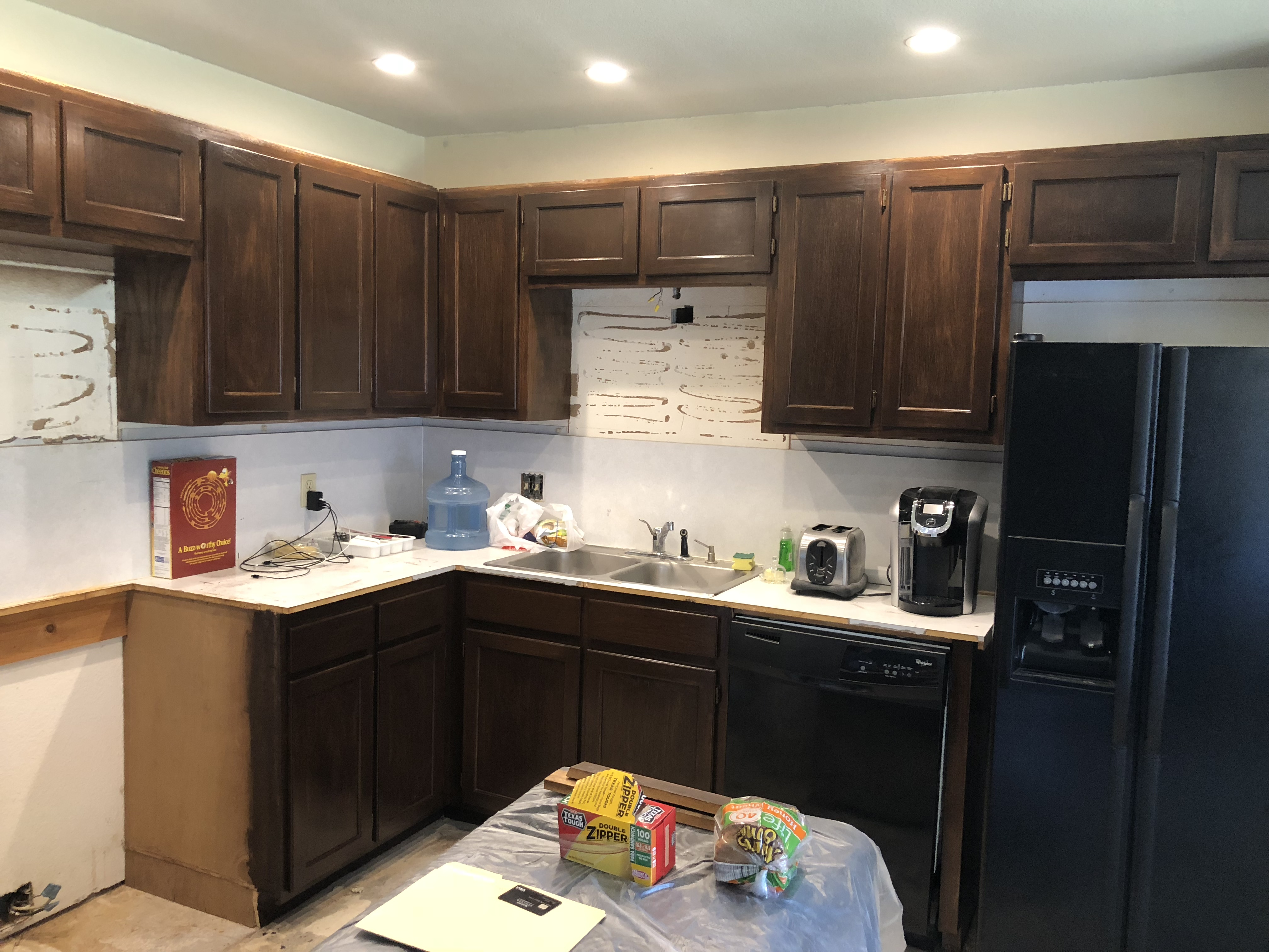 How To Transform Laminate Kitchen Cabinets